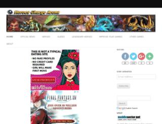 heroescharge-arena.com screenshot