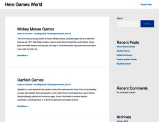 herogamesworld.com screenshot