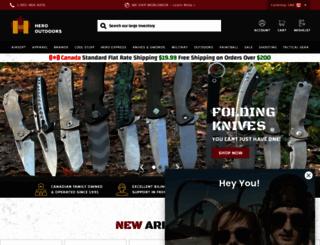 herooutdoors.com screenshot