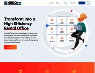 heropm.com screenshot