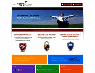 heroware.com screenshot