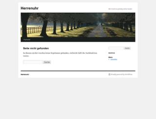 herrenuhr.net screenshot