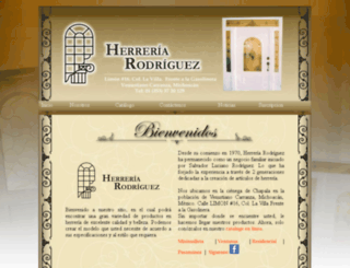 herreriarodriguez.com screenshot