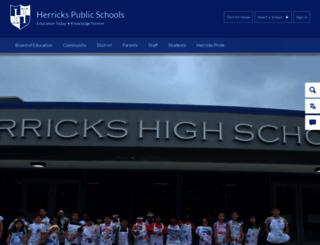 herricks.org screenshot