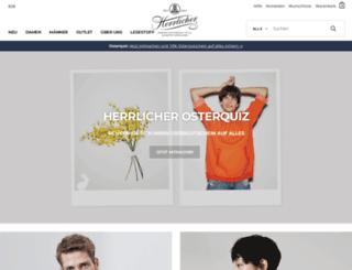herrlicher-store.de screenshot