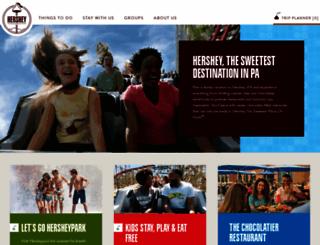 hersheypa.com screenshot