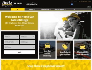 hertzbillings.com screenshot