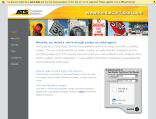 hertzrentalfine.com screenshot
