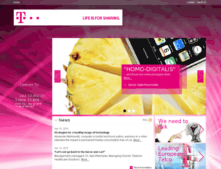 herz.telekom.com screenshot