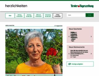 herzlichkeiten.tt.com screenshot