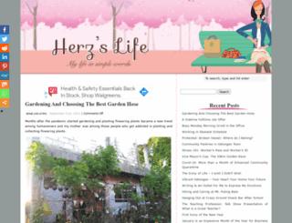 herzlife.com screenshot