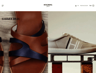 heschung.com screenshot