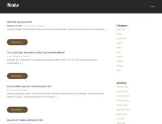 hesho.info screenshot