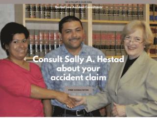 hestadlaw.com screenshot