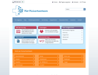 hethuisartsenteam.nl screenshot