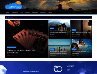 hetweer.nl screenshot