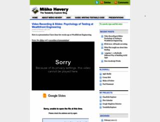 hevery.com screenshot