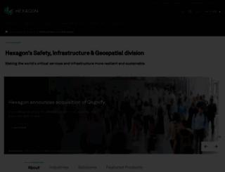 hexagongeospatial.com screenshot