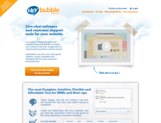 heybubble.com screenshot