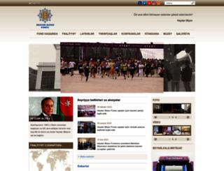 heydar-aliyev-foundation.org screenshot