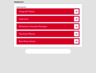 heydee.com screenshot