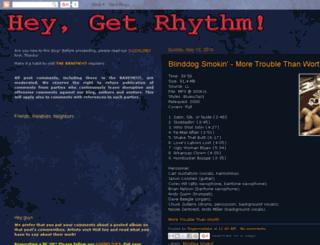 heygetrhythm.blogspot.com screenshot