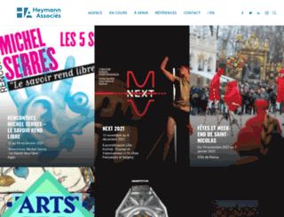 heymann-renoult.com screenshot