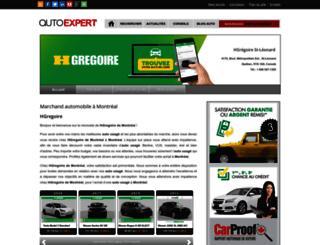 hgregoire-montreal.autoexpert.ca screenshot