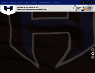 hhs.lisd.net screenshot