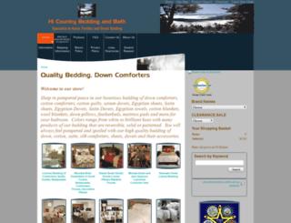 hi-countrybeddingandbath.com screenshot