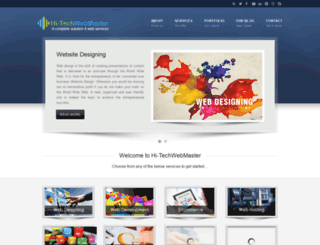 hi-techwebmaster.com screenshot