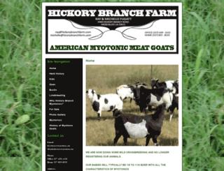 hickorybranchfarm.com screenshot