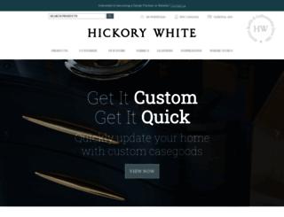 hickorywhite.com screenshot