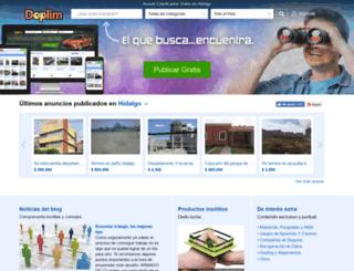 hidalgo.doplim.com.mx screenshot