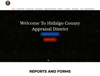 hidalgoad.org screenshot