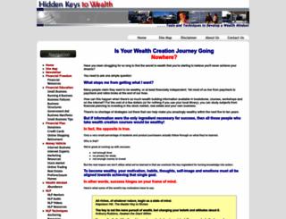 hidden-wealth-keys.com screenshot