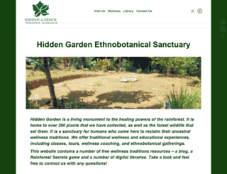 hiddengarden.co screenshot
