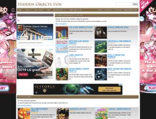 hiddenobjectsfun.com screenshot