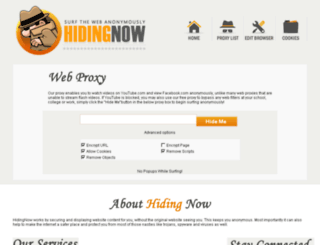 hidingnow.us screenshot
