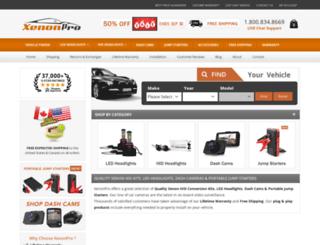 hidkitxenonlights.com screenshot