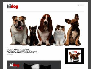 hidogfb.wordpress.com screenshot