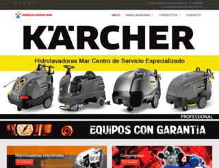 hidrolavadorasmar.com.co screenshot