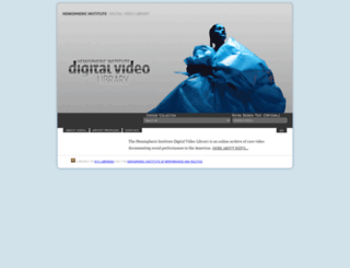 hidvl.nyu.edu screenshot