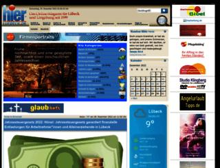 hier-luebeck.de screenshot