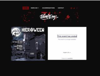 hieroday.com screenshot