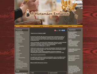 hietamaki.fi screenshot