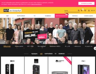 hifi-berlin.com screenshot