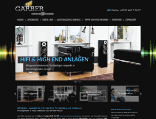 hifi-gaerber.de screenshot