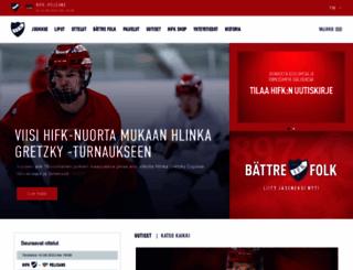 hifk.fi screenshot