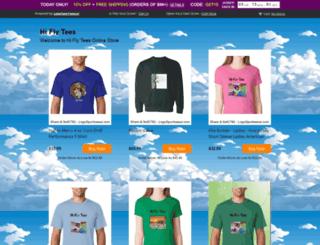 hiflytees.logosoftwear.com screenshot